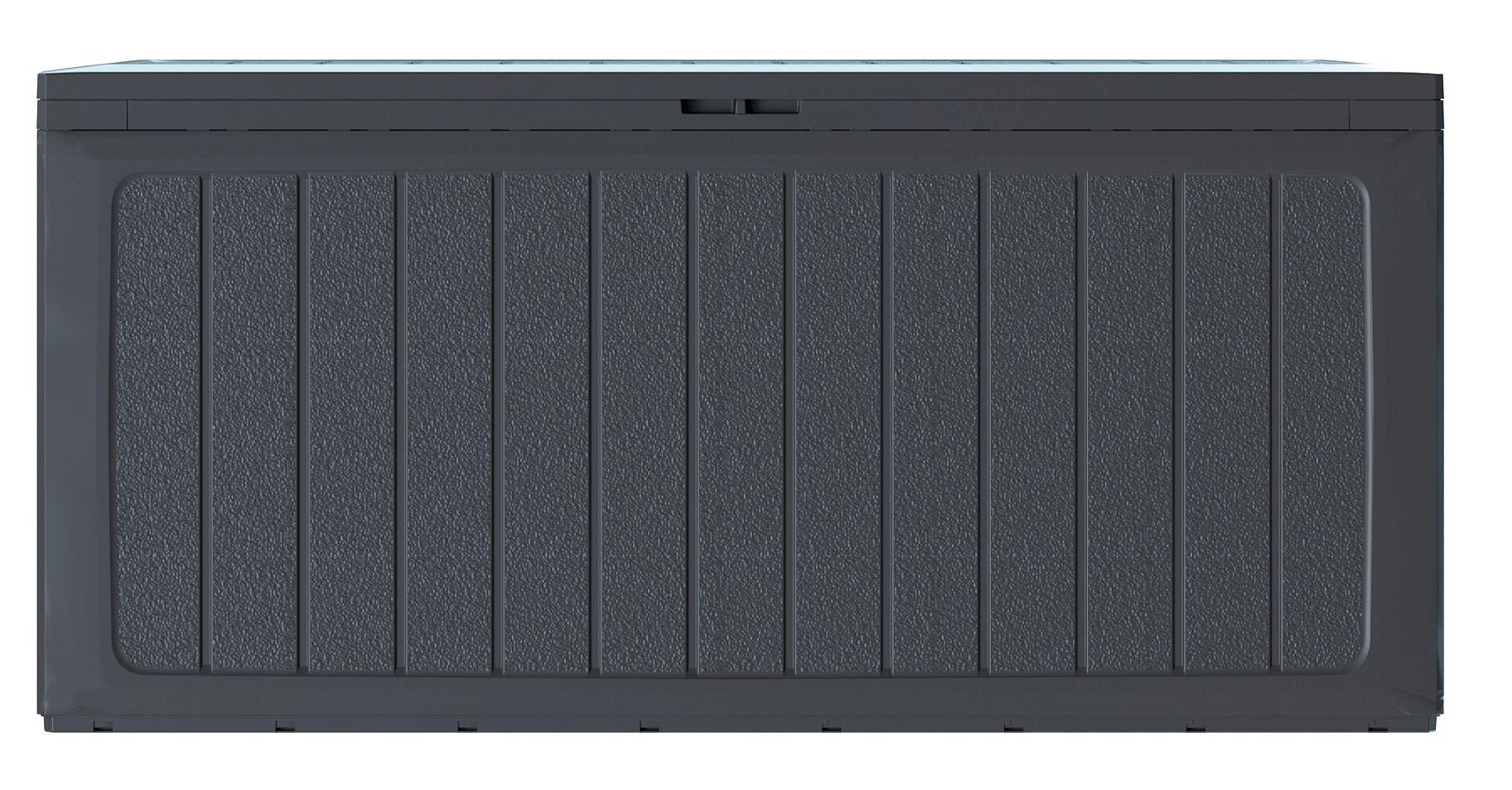 PROSPERPLAST Zahradní box BOARDEBOX antracit 116 cm - 290L