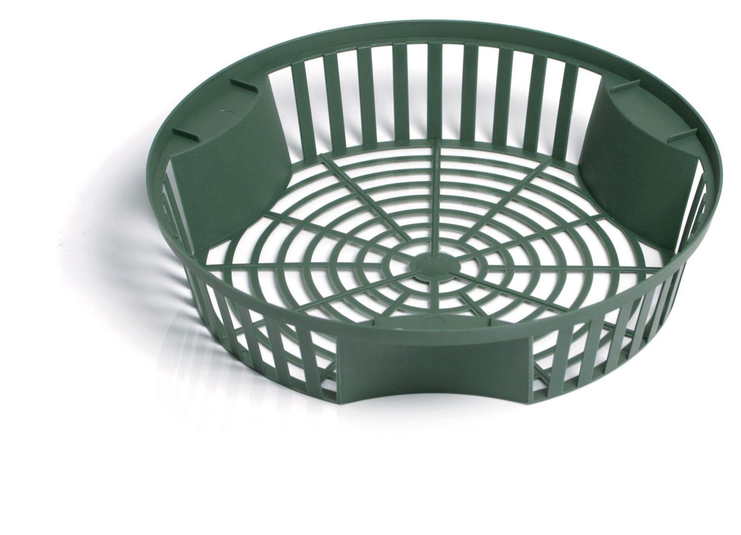 PROSPERPLAST Košík na cibuloviny ONION II tm.zelený 31,5cm