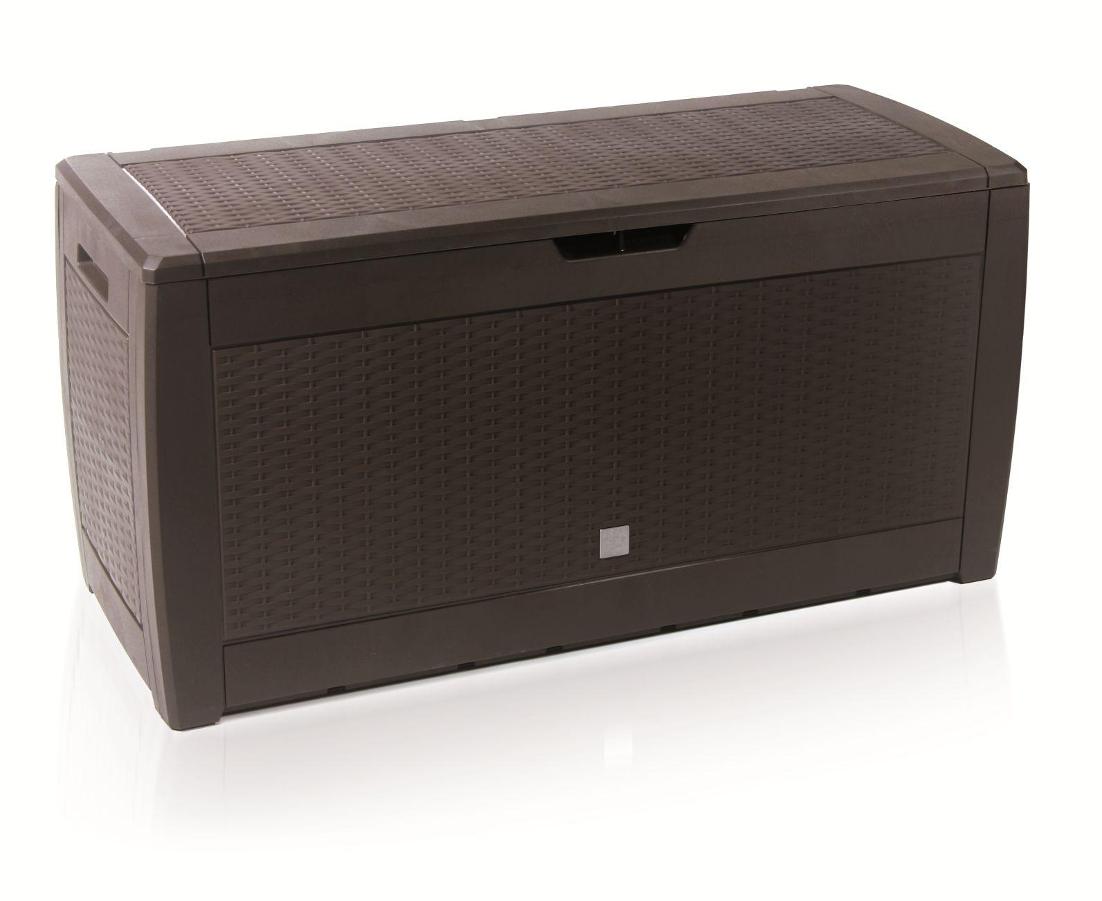 PROSPERPLAST Zahradní box BOXE RATO umbra 119cm - 310L