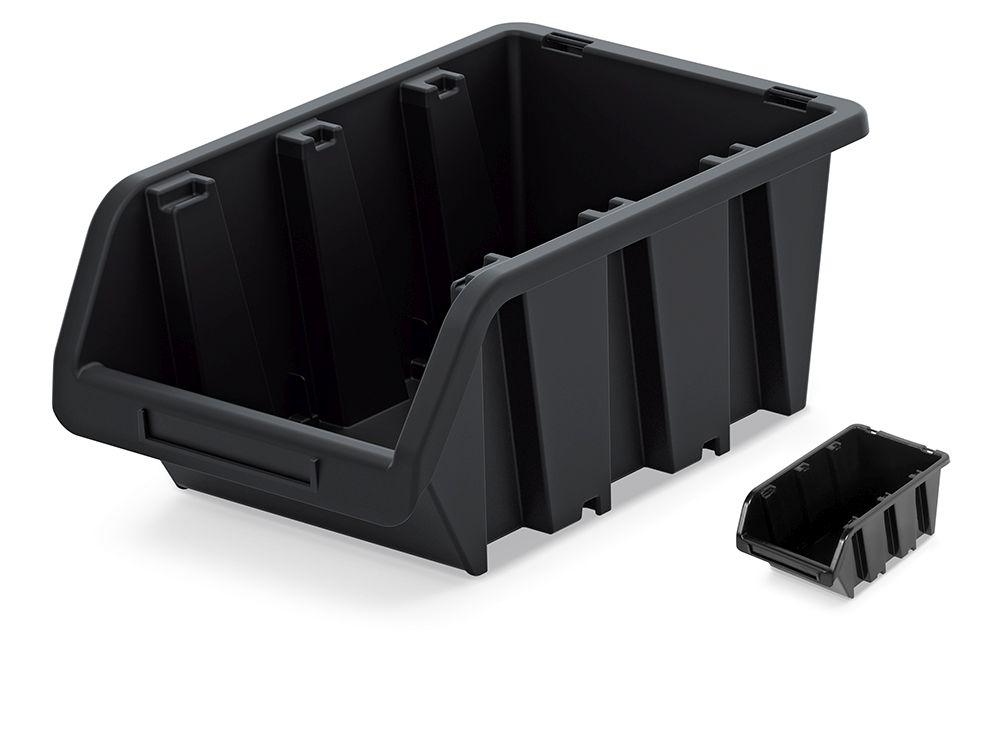 PROSPERPLAST Plastový úložný box TRUCK 390x240x180 černý