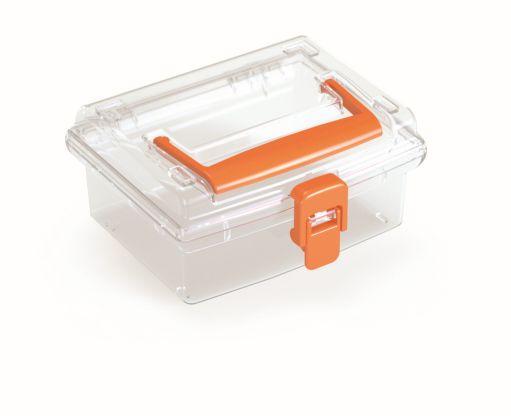 PROSPERPLAST Plastový organizér NUF LOW 148x135x70 oranžový