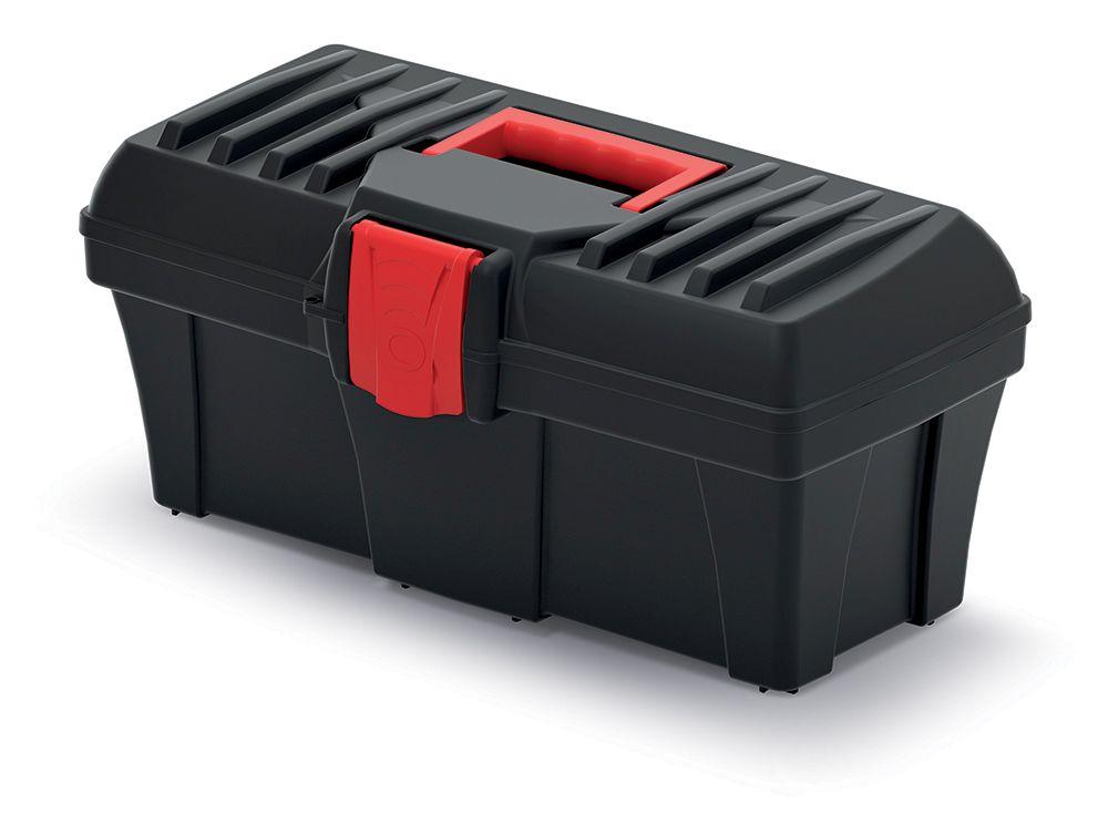 PROSPERPLAST Plastový kufr na nářadí CALIBER 400x200x186