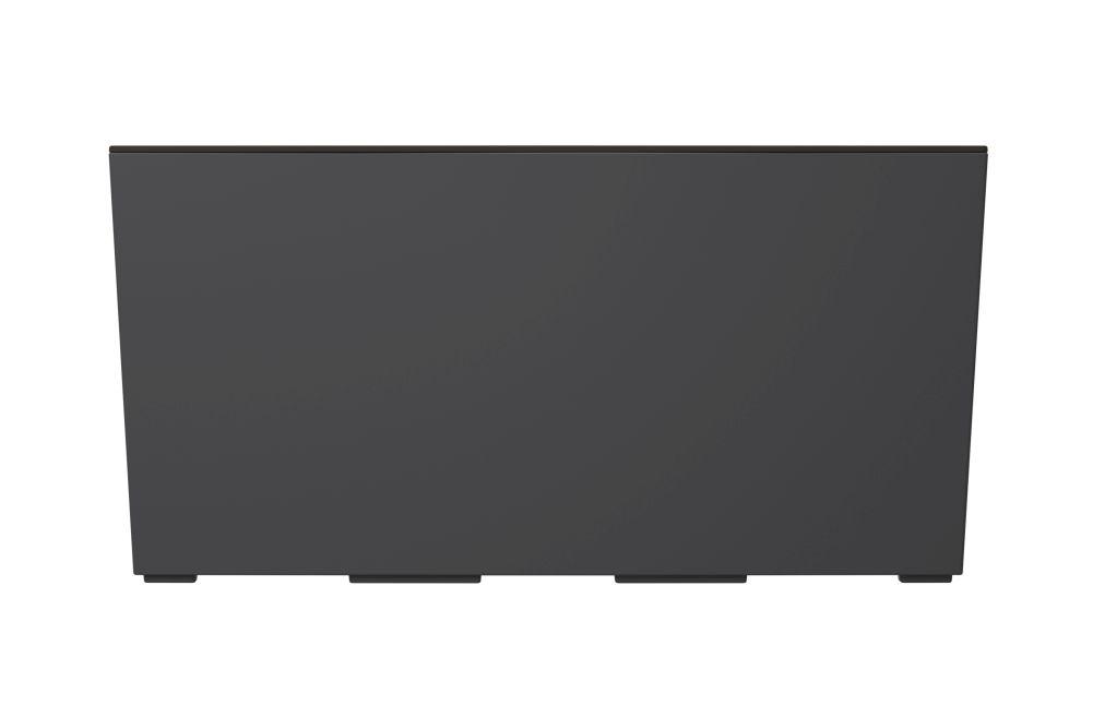 PROSPERPLAST Truhlík URBI CASE s vkladem antracit 58cm