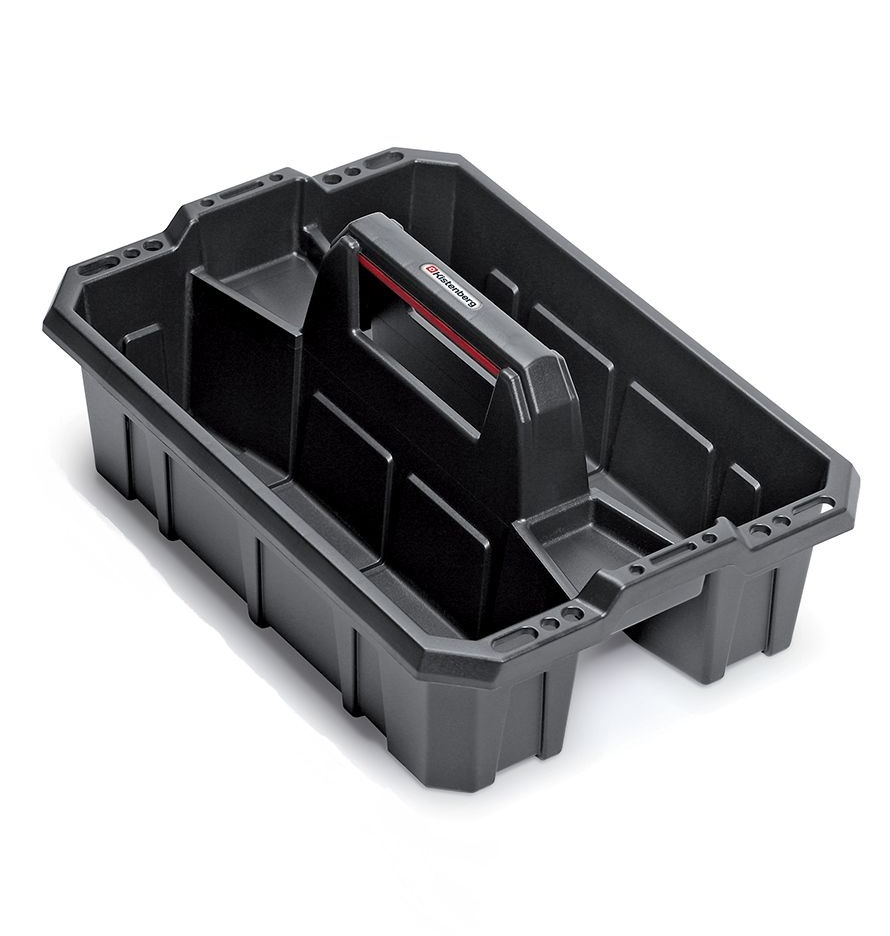 PROSPERPLAST Přepravka na nářadí CARGO PLUS černá 300x300x133