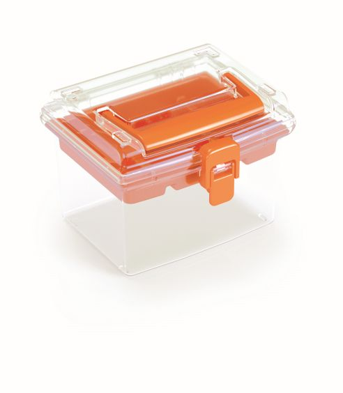 PROSPERPLAST Plastový organizér NUF HIGH 148x135x110 oranžový