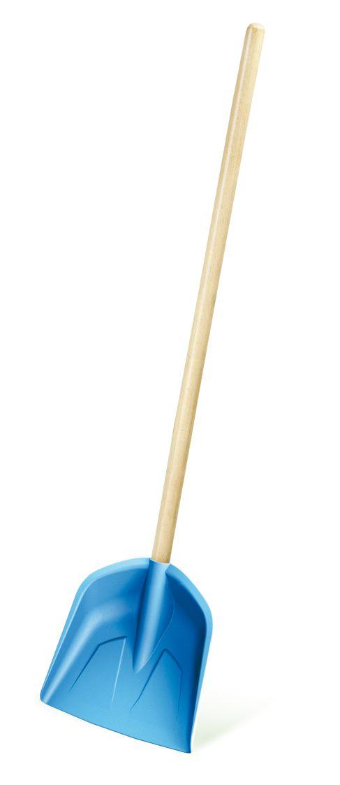 PROSPERPLAST Dětská lopata LOAD BABY světle modrá, dřevěná násada 74cm