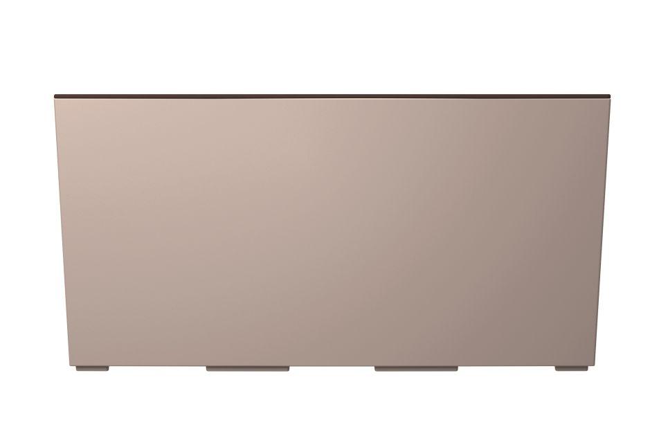 PROSPERPLAST Truhlík URBI CASE s vkladem mocca 39,5cm