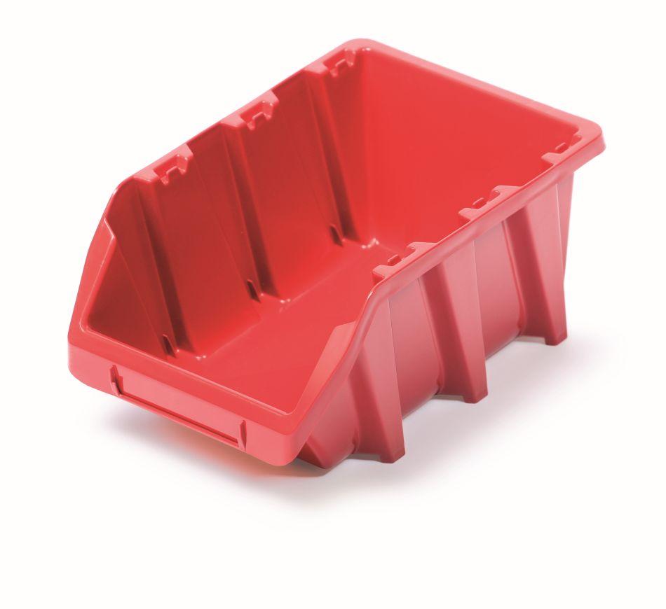 PROSPERPLAST Plastový úložný box BINEER LONG 295x198x133 červený