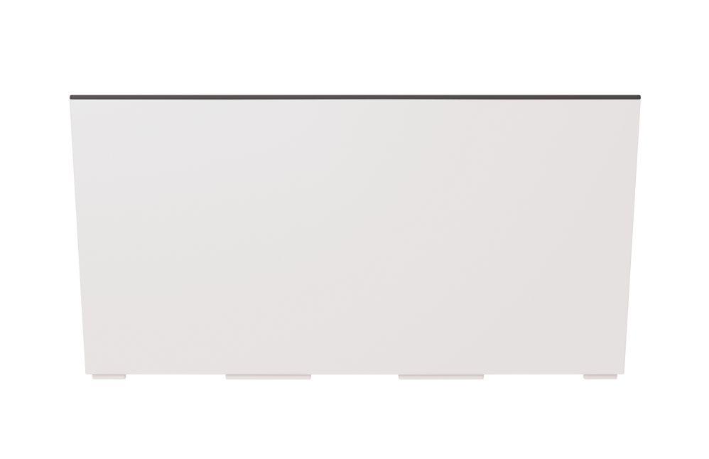 PROSPERPLAST Truhlík URBI CASE s vkladem bílý 58cm