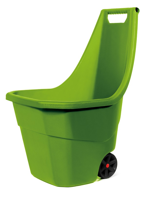 PROSPERPLAST Vozík zahradní LOAD & GO olivový 55l
