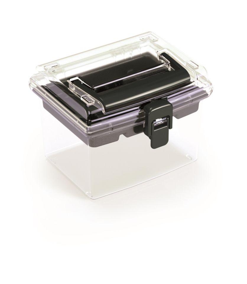 PROSPERPLAST Plastový organizér NUF HIGH 148x135x110 černý