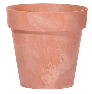 PROSPERPLAST Květináč CUBE BETON EFFECT terakota 11cm