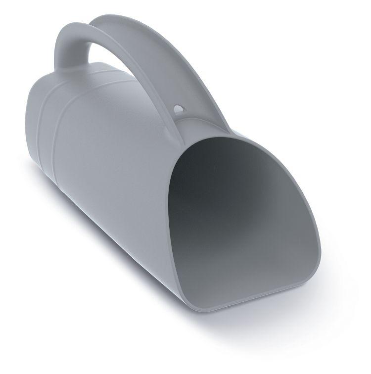 PROSPERPLAST Konev multifunkční R CUP PLUS šedá 12,2cm (odolný ABS plast)