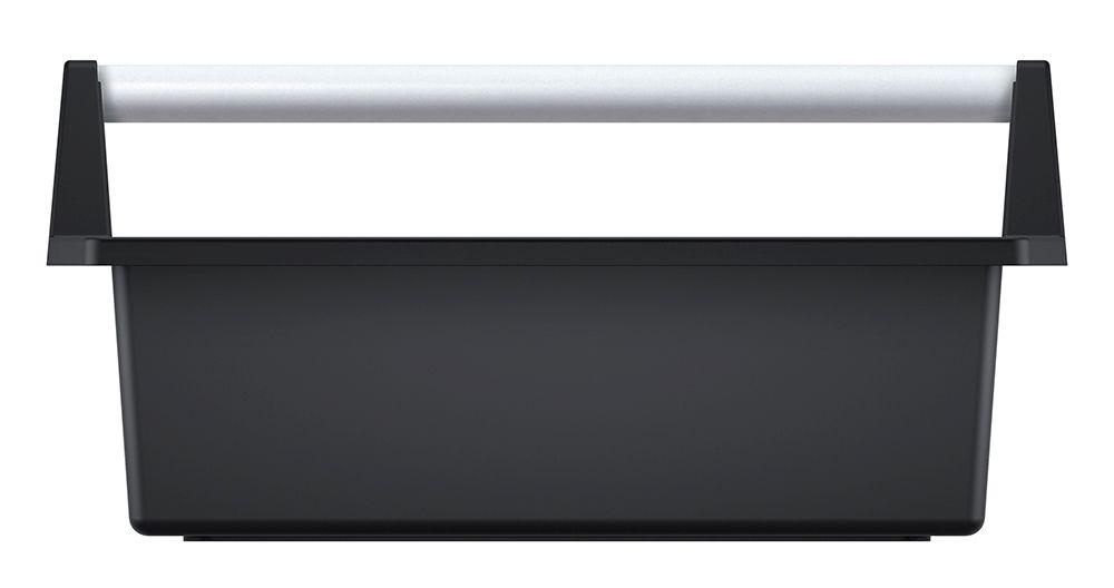 PROSPERPLAST Přepravka na nářadí s kov. držadlem CARGO černá 496x296x231