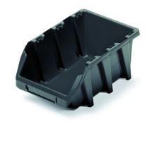 Plastový úložný box BINEER LONG 295x198x133 černý