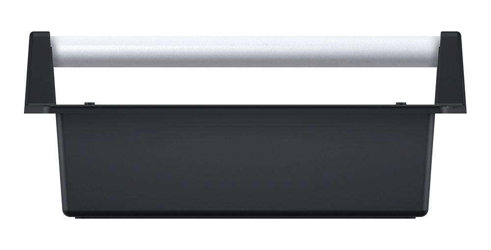 PROSPERPLAST Přepravka na nářadí s kov. držadlem CARGO černá 400x220x170