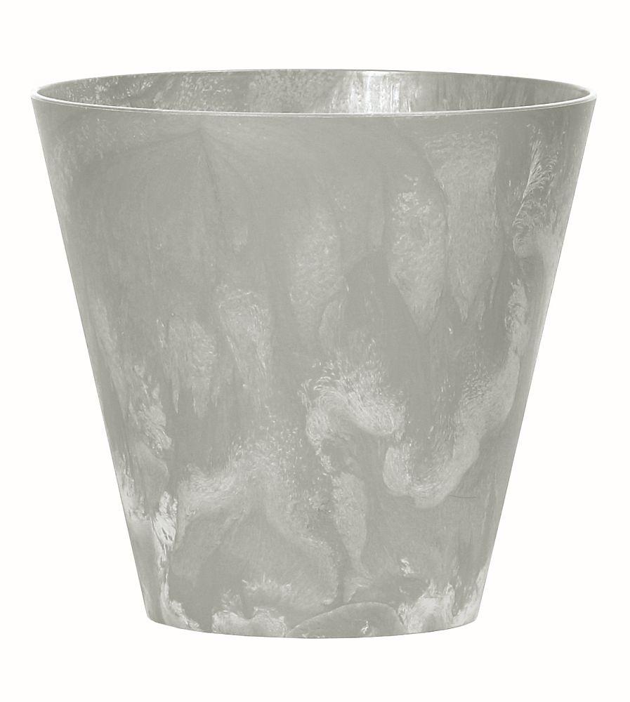 PROSPERPLAST Květináč TUBUS BETON EFFECT šedý 30cm