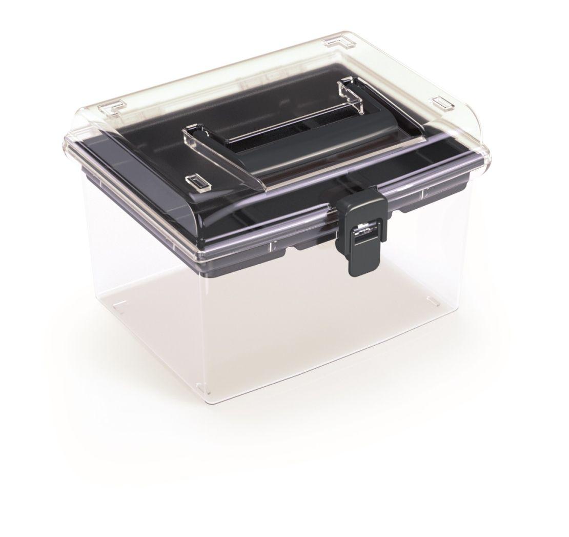 PROSPERPLAST Plastový organizér NUF HIGH 195x174x135 černý