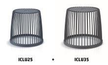 Set 2 univerzálních košů CLUBO 25+35l antracit