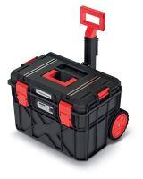 Kufr na nářadí s transp. kolečky X BLOCK TECH černý 546x380x400