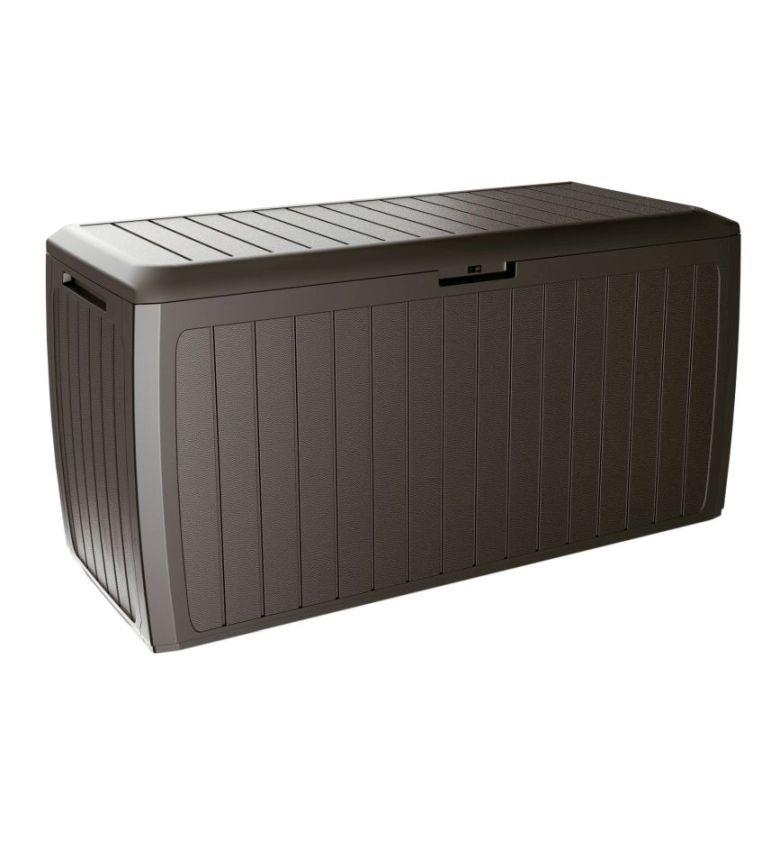 PROSPERPLAST Zahradní box BOXE BOARD umbra 116cm - 290L