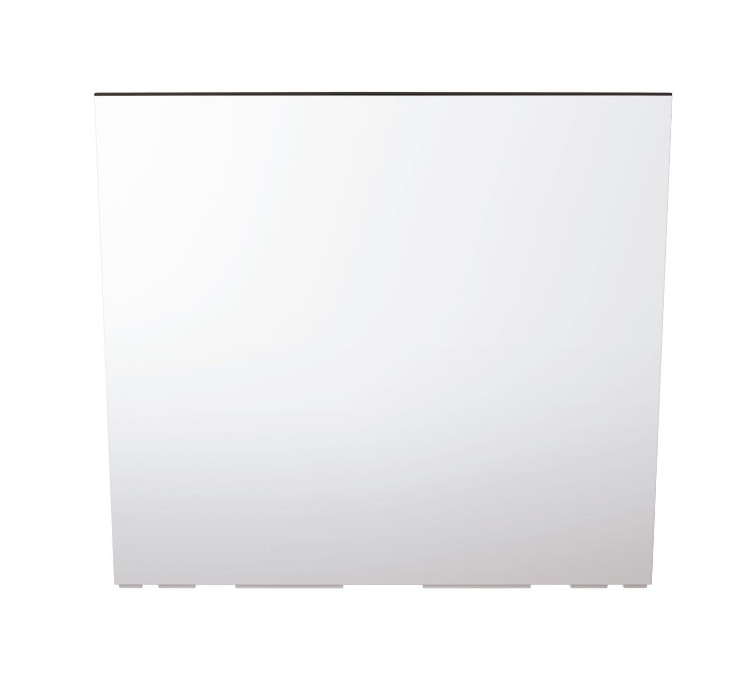 PROSPERPLAST Truhlík vysoký URBI CASE s vkladem bílý 58cm