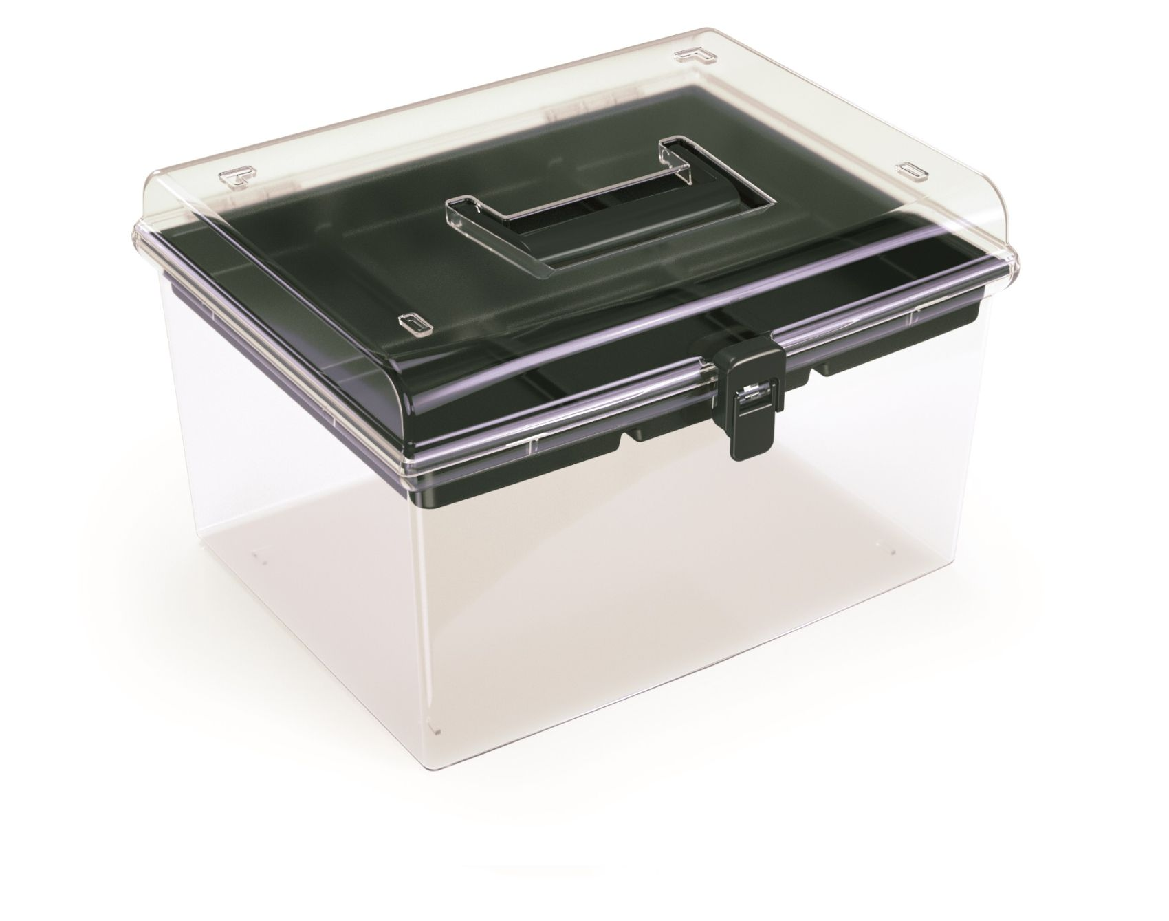 PROSPERPLAST Plastový organizér NUF HIGH 292x250x185 černý