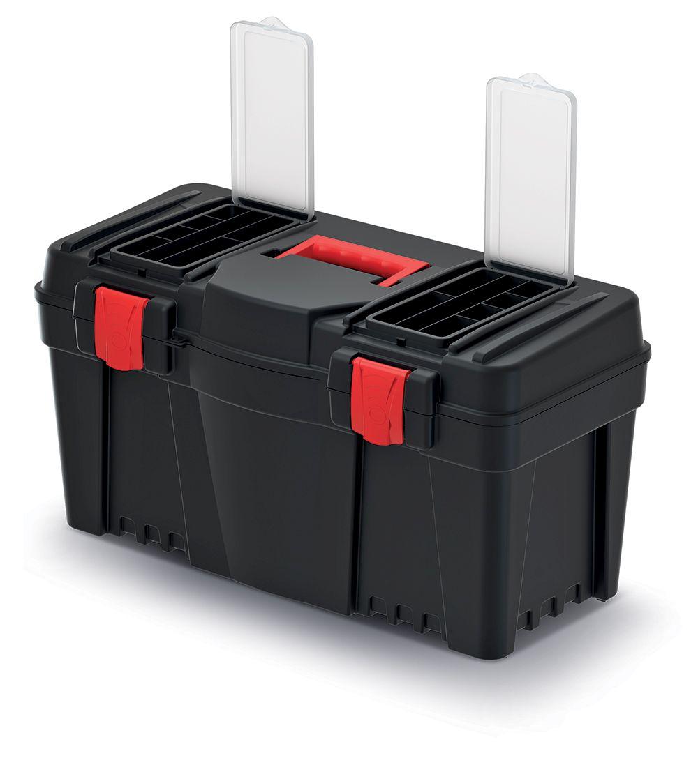 PROSPERPLAST Plastový kufr na nářadí CALIBER 550x267x270