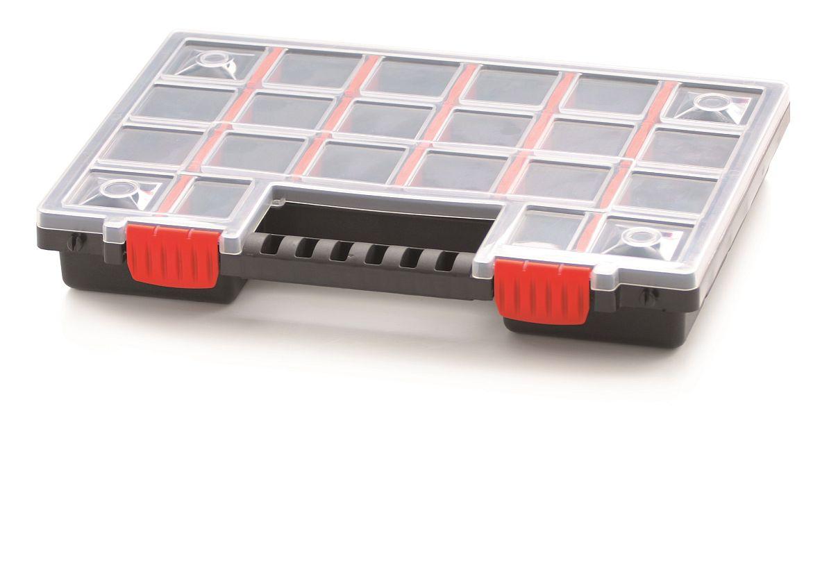 PROSPERPLAST Plastový organizér 22 přihrádek (přepážky) NORS 344x249x50