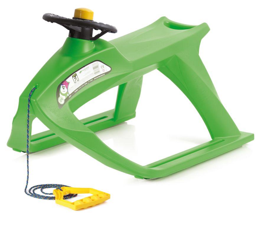 PROSPERPLAST Sáňky F1 zelené