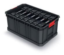 Modulární přepravní box se 7 organizéry MODULAR SOLUTION 520x329x210