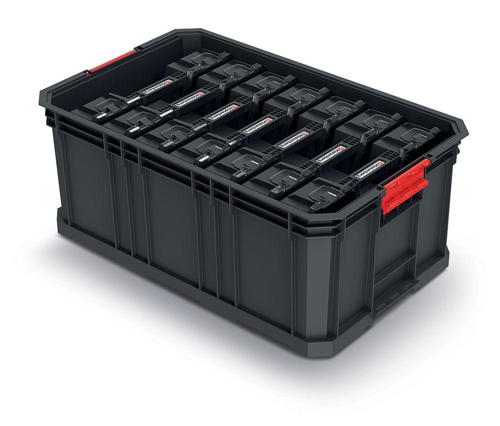 PROSPERPLAST Modulární přepravní box se 7 organizéry MODULAR SOLUTION 520x329x210