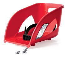 Sedátko SEAT 1 červené k sáňkám Bullet, Bulet Control a Tatra