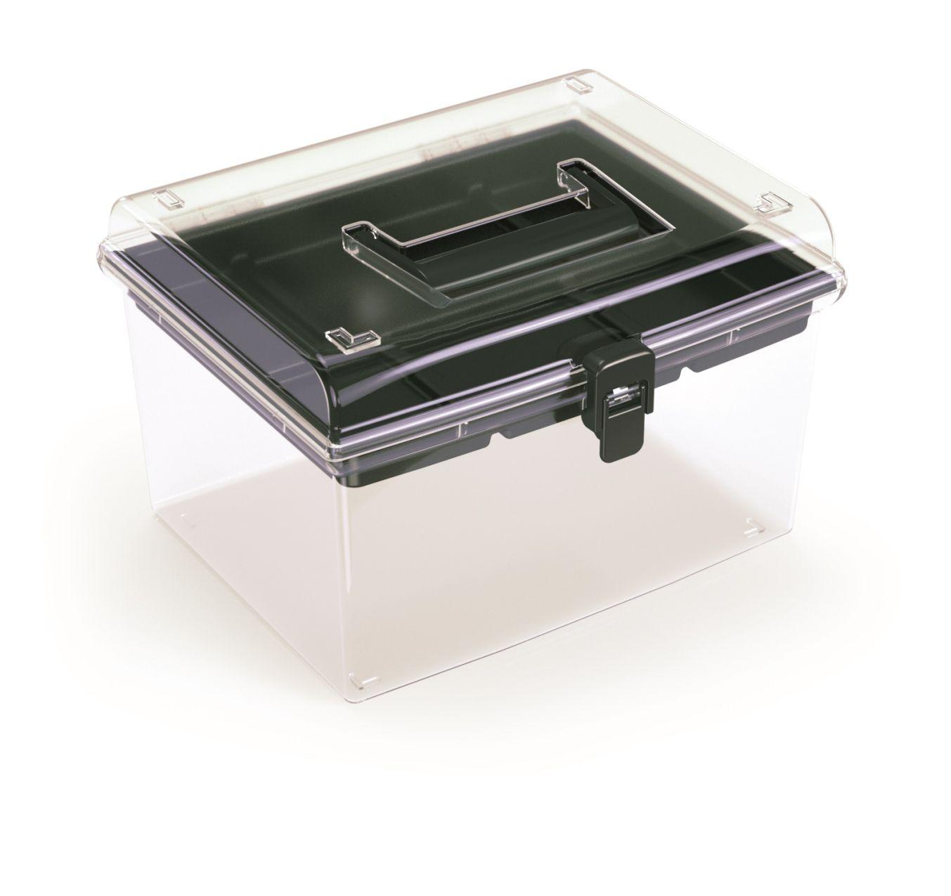 PROSPERPLAST Plastový organizér NUF HIGH 245x214x158 černý