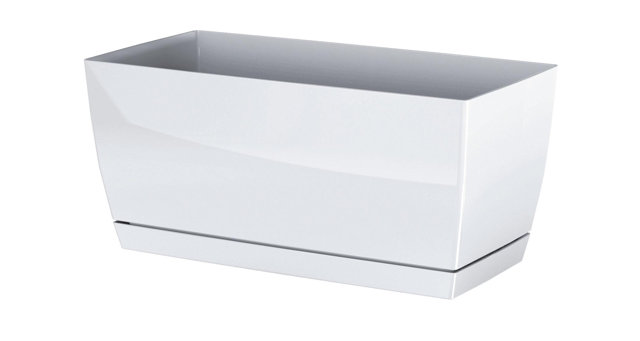 PROSPERPLAST Truhlík COUBI CASE P s miskou bílý 24cm