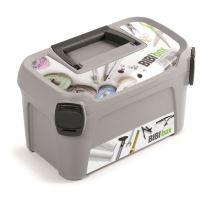 Plastový kufr na nářadí LINE IML motiv bibi box 380x234x225