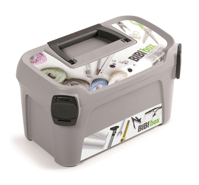 PROSPERPLAST Plastový kufr na nářadí LINE IML motiv bibi box 380x234x225