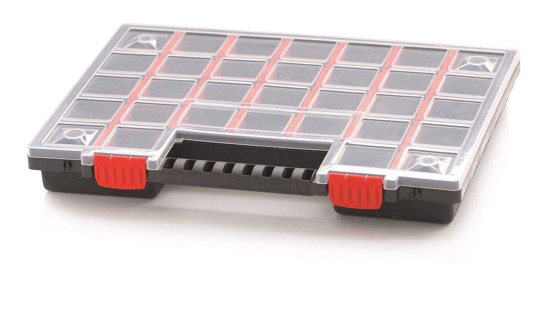 PROSPERPLAST Plastový organizér 32 přihrádek (přepážky) NORS 399x303x50