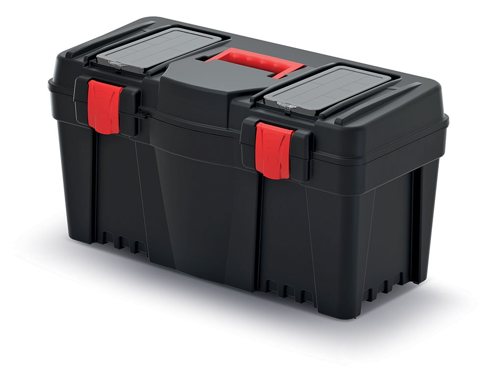 PROSPERPLAST Plastový kufr na nářadí CALIBER 597x285x320