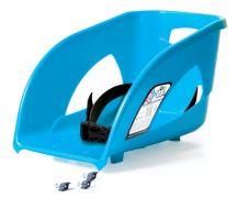 Sedátko SEAT 1 světle modré k sáňkám Bullet, Bulet Control a Tatra