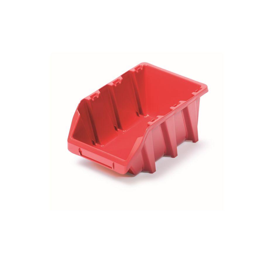 PROSPERPLAST Plastový úložný box BINEER LONG 198x118x84 červený