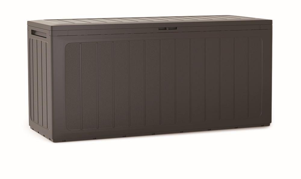 PROSPERPLAST Zahradní box BOARDEBOX umbra 116 cm - 290L