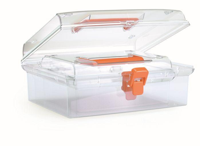 PROSPERPLAST Plastové organizéry NUF SET 245x214x100 oranžové