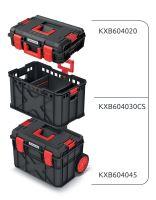 Set kufrů na nářadí a organizéru X BLOCK PRO 546x380x970