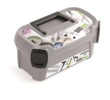 Plastový kufr na nářadí LINE IML motiv bibi box 328x178x160