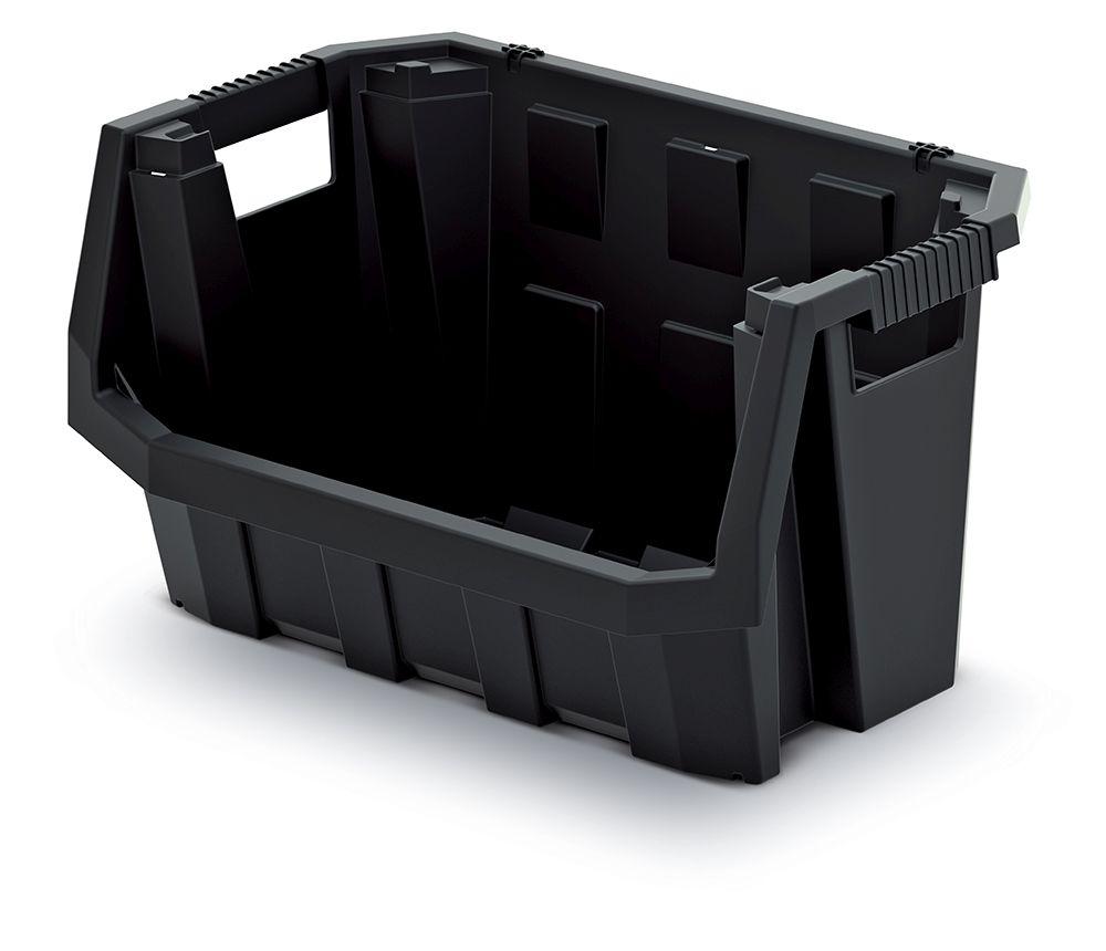 PROSPERPLAST Plastový úložný box TRUCK MAX 396x380x282 černý