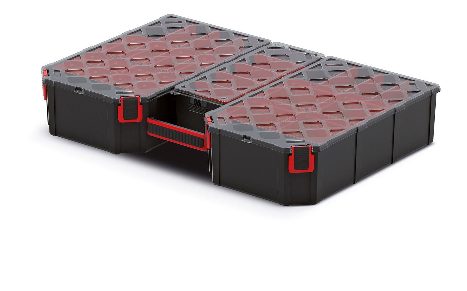 PROSPERPLAST Organizér vysoký TAGER 577x390x105 (přepážky/krabičky)