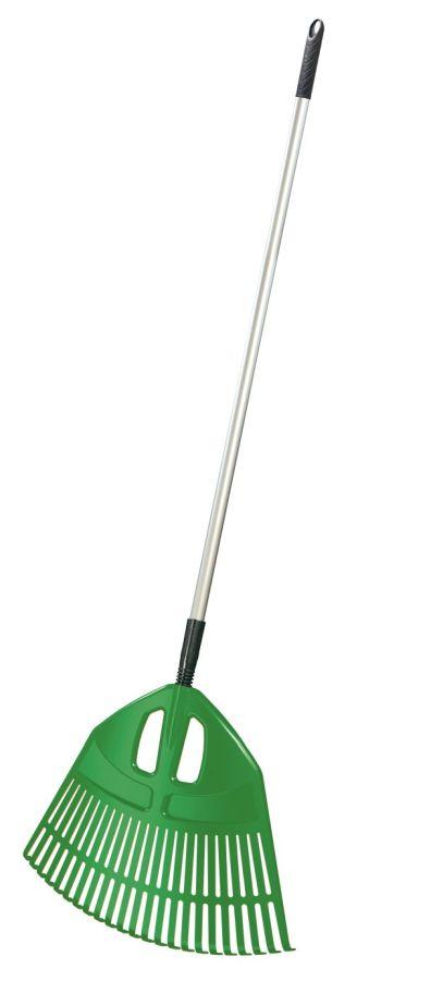 PROSPERPLAST Hrábě EXPERT ALU zelené, kovová násada 195cm