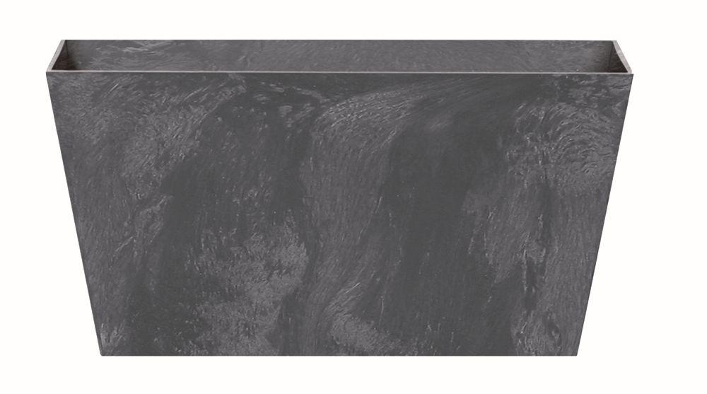 PROSPERPLAST Truhlík TUBUS CASE BETON EFFECT antracit 60 cm