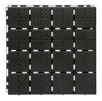 Dlaždice zahradní EASY SQUARE černá 40x40cm - 1,5m2